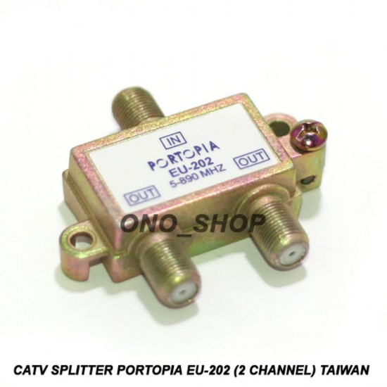 2-Way Digital Aerial Cable Tv Splitter 5-890Mhz - Media Type Broadband,Antenna-Connector