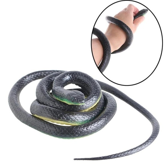 Snake Funny Spoof Toys Garden Toy Soft Scary Fake Snake Toy