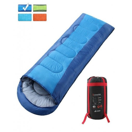 Sleeping Bag - Lightweight Portable, Waterproof, Comfort With Compression Sack