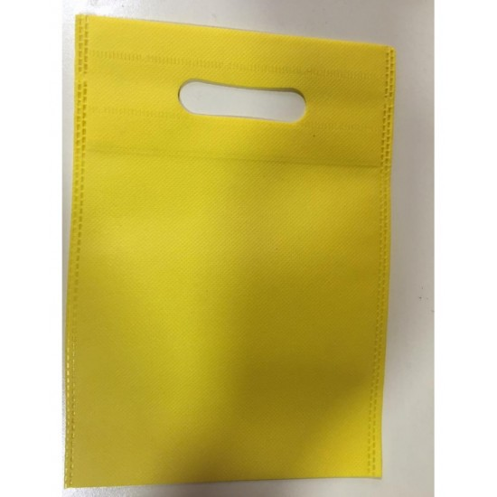 (Pack of  5) Thick Gift Bags - Yellow Color