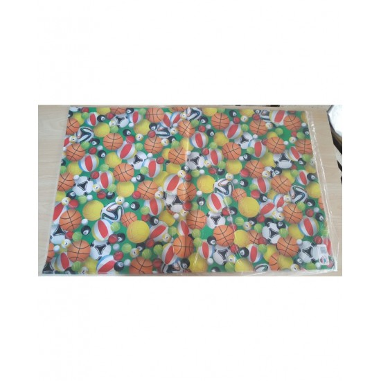 (PACK OF 12)Wrapping Paper Sheet -Multi-colour With Attractive Design