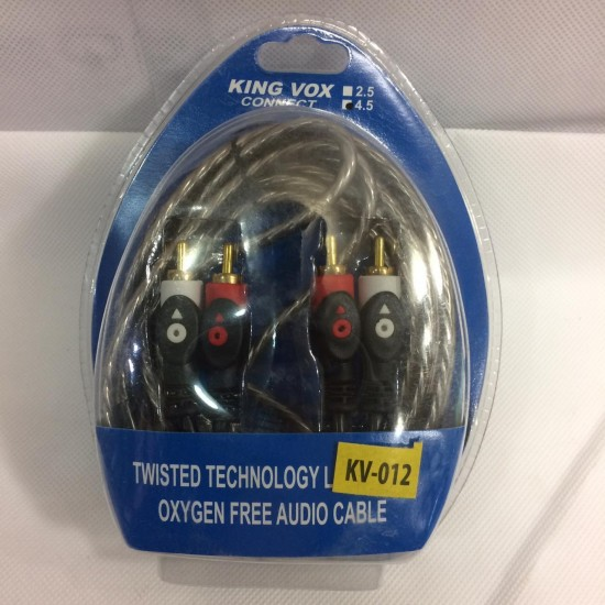 RC Twisted Technology Oxygen Free Audio Cable-4.5M