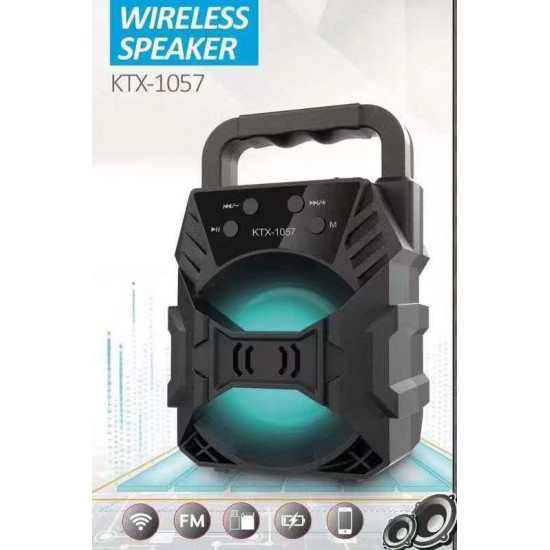 LIFEMUSIC GOOD QUALITY SUB-WOOFER PERFECT PORTABLE ULTRA DYNAMIC LOUD STEREO SOUND WITH DEEP POWERFUL RICH BASS WIRELESS,TF,FM,USB,AUX SUPPORTED WITH IN BUILT CALLING MIC