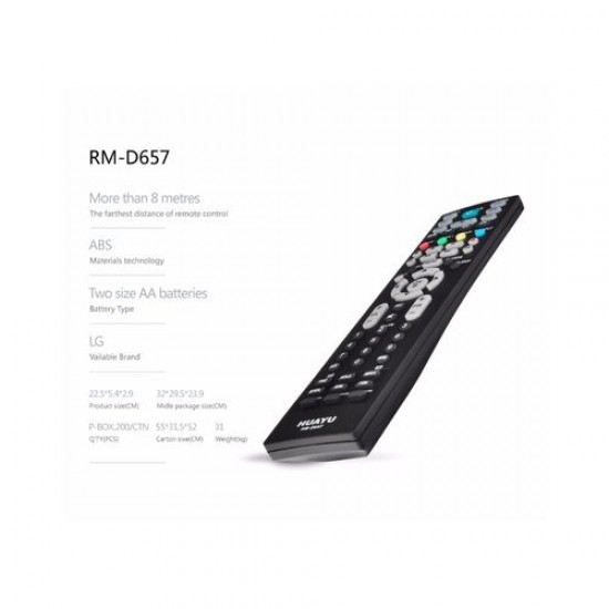 Universal Remote Controller Zenith H25F34Dt Rm-27Lz50 Lcd/Lled Tv