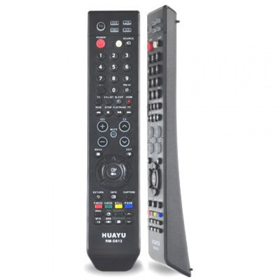 Universal Remote For Samsung LED & LCD TV RM-D613 (Black)