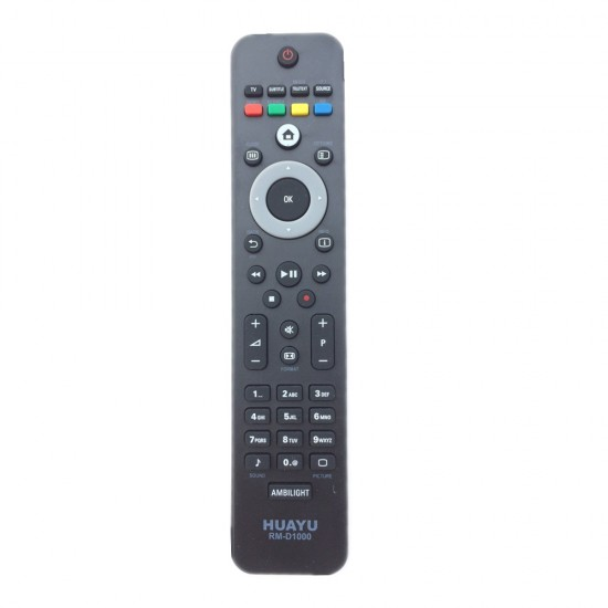 REMOTE CONTROL FOR PHILIPS LED/LCD - RM-D1000 - BLACK