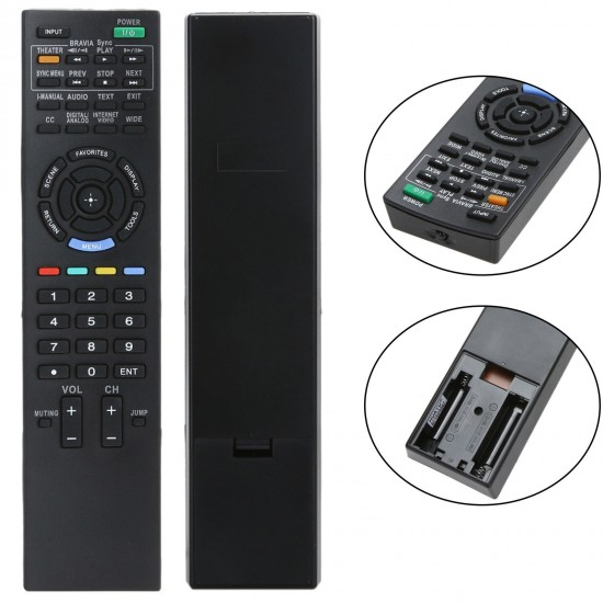 Universal Remote For Sony Led & Lcd Tv RM-D959 - Black
