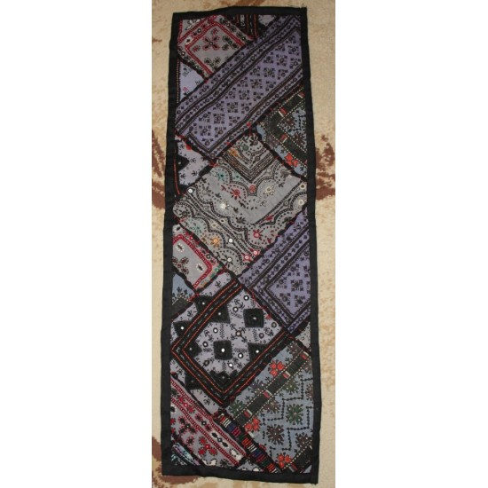 3 PC Ethnic Mat Runner 1 Long 2 Small - HandCraft -Thar Design
