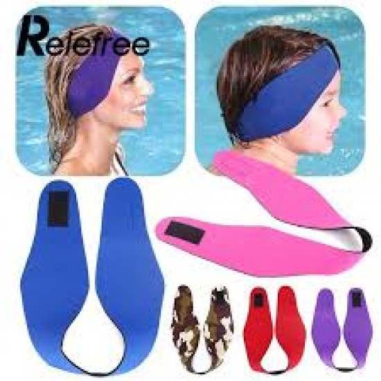 Amazing Sports Diving Swimming Head Ear Band Headguard Protective Waterproof Safety