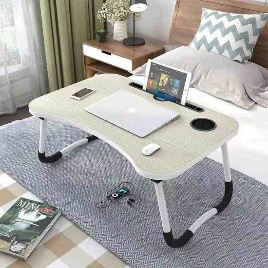 Learning Computer Desk Laptop Desk Folding Lazy Table Bed with a desk lazy Notebook computer desk can be folded college student dormitory learning table