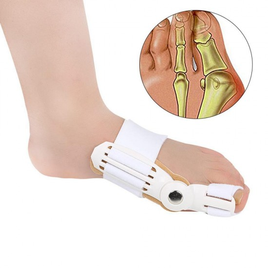 Bunion Corrector Big Toe 1 Pc Super Thin Toe Separators Straighteners Support Day Night Time for Left Right Foot Women Men