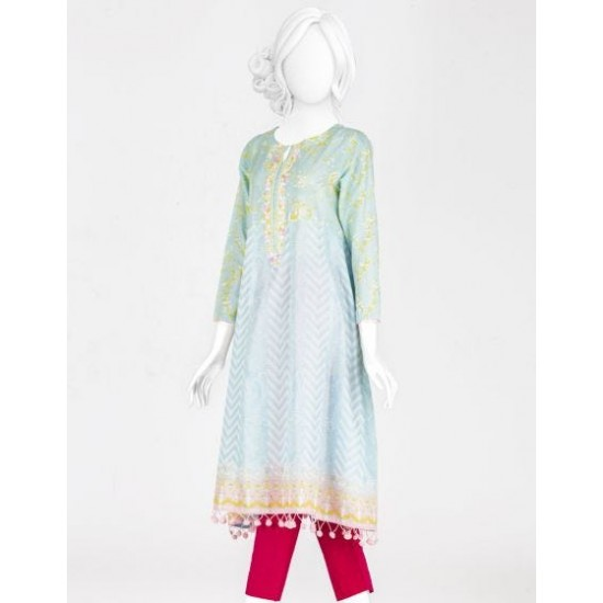 New Stylish Lawn Kurti