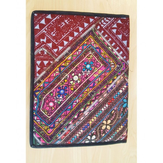 Special offer for all get Sindhi bootee design laptop bag with multi Colour