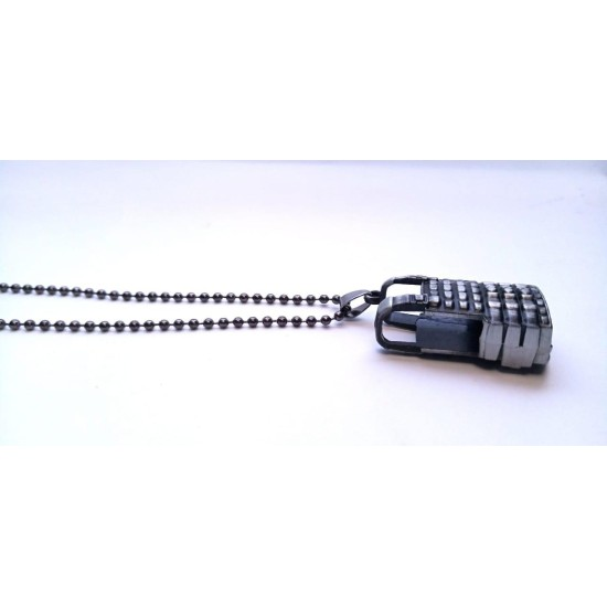 PUBG Pendant with Beads Chain