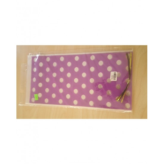 Amazing Plastic Gift Bags With Beautiful Printed And Multi Colours. Special Offer 10 Party Bags In 1 Pack